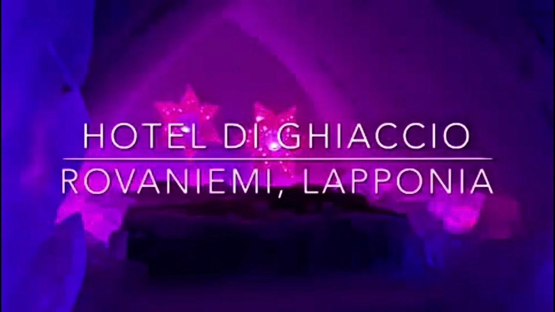 Lapponia Casa Di Babbo Natale Video.Lapponia Dormire In Un Hotel Di Ghiaccio Guarda Il Video